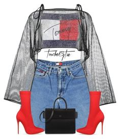 """Untitled #556"" by iamtaecarter ❤ liked on Polyvore featuring Tommy Hilfiger, demoo parkchoonmoo and Givenchy"
