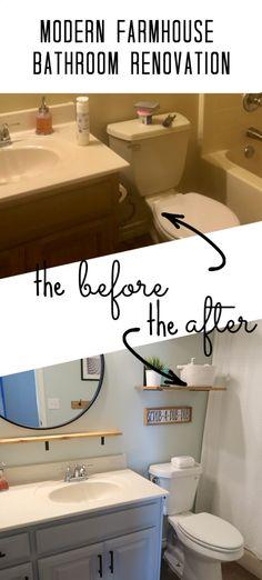 Budget Bathroom Remodel, Bathroom Renovations, Bathroom Updates, Restroom Remodel, Budget Bathroom Makeovers, Home Renovations, Renovation Budget, Bath Remodel, Kitchen Remodeling