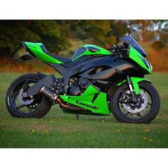 Kawasaki Ninja ZX-6R. Motorcycles, bikers and more