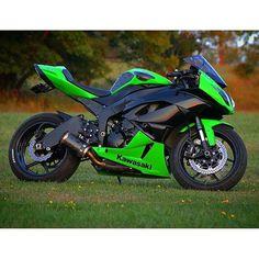 motorcycles-and-more:  Kawasaki Ninja ZX-6R -  | pomozmioddychac