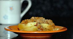 This gluten-free, dairy-free, vegan apple crisp is great all year round, though especially soothing in fall and winter.