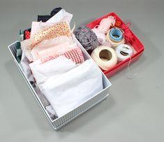 Pañitos de tela reciclada