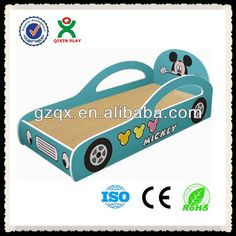 Fantastic Design Kindergarten Wooden Furniture Kids Car Bed Qx-b6703 - Buy Kids…