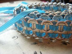 Pop tab belt by India Evans, via Flickr