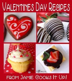 Valentines Day Recipes from Jamie Cooks It Up!