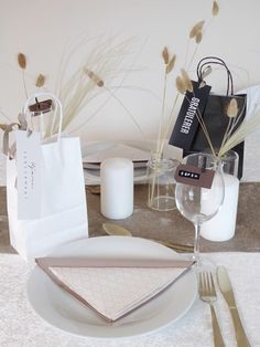 Place Cards, Table Settings, Place Card Holders, Table Decorations, Bullet Journal, Table Top Decorations, Place Settings, Desk Layout