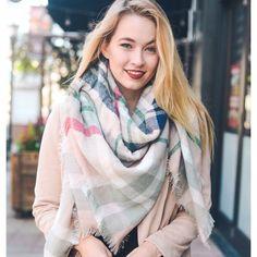 Tartan Blanket Scarf / Wrap