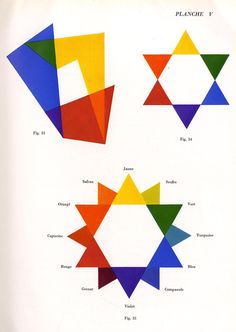 Manuel Theoretique et Pratique D'Etalagisme_ Light Colors, Colours, Academic Art, Josef Albers, Painted Boards, Visual Communication, Color Theory, Sacred Geometry, Love Art