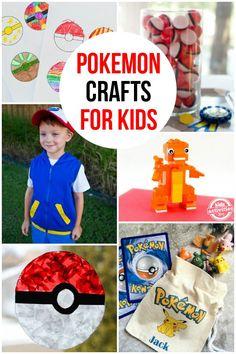 Knutselen Pokemon thema - Pokemon Crafts for Kids - Kidsactivitiesblog