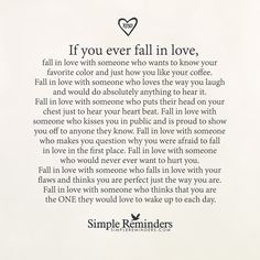 If you ever fall in love by Unknown Author