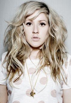 Ellie Goulding Famosos Musica Artistas Personas Rizos Desordenados Ondas Despeinadas