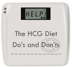 Learn the Do's and Don'ts of the HCG Diet. Things like... DO check your stevia for words ending in -ose, -tol, or -dextrin. DON'T have the same vegetable 2 HCG meals in a row. Read MORE! www.diyhcg.com