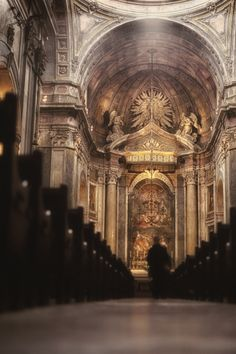 Igreja em Lisboa. Hasselblad 500C | Fuji 160S
