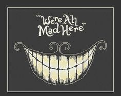 """The Cheshire Cat Wallpaper from Alice In Wonderland. A Cheshire Cat wallpaper with a quote. The Cheshire Cat is a fictional cat popularised by Lewis Carroll in """"Alice's Adventures in Wonderland"""" and known for its distinctive mischievous grin. Sf Wallpaper, Iphone 5 Wallpaper, Desktop Backgrounds, Wallpaper Quotes, Wallpaper Hipster, 1920x1200 Wallpaper, Twitter Backgrounds, Wallpaper Gallery, Twitter Headers"""