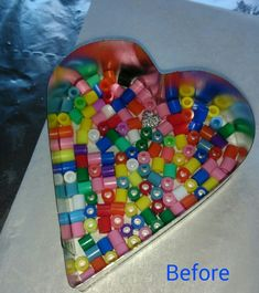 Melting hama beads in the oven - Mrs Bead