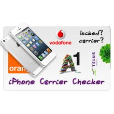 We factory unlock Apple iPhone locked to various networks / carriers over the whole world. The unlock is a removal of simlock, it is official and permanent. Your iphone will not ever get relocked again. We also offer carrier and other info checking services. Some of these services are free for our regular customers.