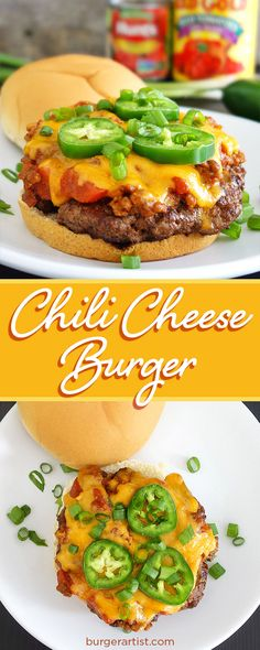 Chili cheese burger