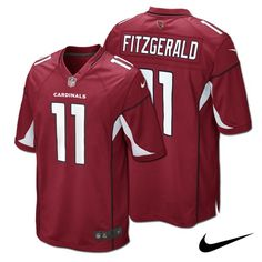 NFL Jersey's Toddler Arizona Cardinals Larry Fitzgerald Nike Cardinal Game Jersey