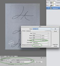 Create a Signature Watermark in Photoshop Elements