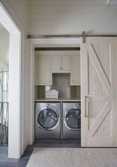 Amazing Farmhouse Laundry Room Decor Ideas 41