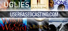 The goal of User Based Casting is simple: to score one of our members an audition for a leading role in an upcoming YA book-to-film adaptation.  Visit User Based Casting to view our Finalists' audition videos for characters from Maximum Ride (1700 videos and counting!), GONE, Witch & Wizard, Graceling, Legend, and Uglies.