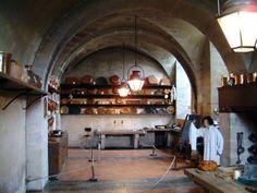 Cuisine du château de Vaux Le Vicomte
