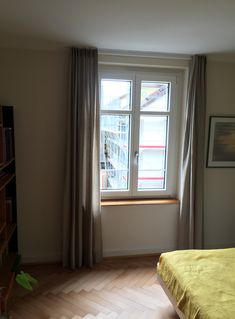 Leinenvorhang Windows
