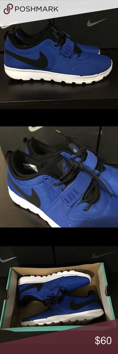 Men's Nike SB Trainerendor Royal Blue New in Box Brand New in box. Box is missing the lid, see last picture. I'll double wrap in bubble wrap to ensure no damages during shipment. Orders Will be shipped out in 1 day from purchase. If you have any questions or need additional pictures call or text 520-262-1875. I only sell via Poshmark and I don't trade as all these items are inventory from my eBay store. Thanks for looking! Nike Shoes Sneakers