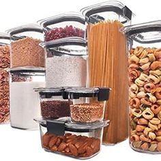 MoneySavingMom (@allthebestdeals) • Instagram photos and videos Dry Food Storage, Airtight Food Storage Containers, Food Containers, Storage Ideas, Tupperware Storage, Storage Jars, Plastic Storage, Easy Storage, Tapas