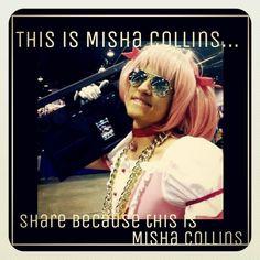 This is Misha Collins... #supernatural
