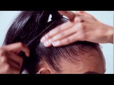 4 Ways to Lay Down Edges | Baby Hair, Sleek Pony's + More with NEW Black Vanilla Edge Smoother