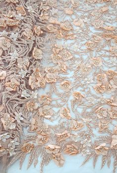 Fashion bridal 3d lace fabric guipure wedding lace fabric tulle 3d flower lace embroidery fabric by Qualitylace1 on Etsy