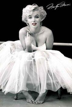 Marilyn Monroe Ballerina Print
