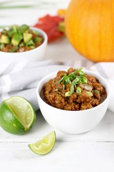 Slow-Cooker Pumpkin Chili | The Real Food Dietitians…