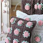Crochet cushion por Sündenherz