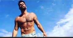 These Shirtless Photos of Ricky Martin Will Make Your Day (Week!) Way Better