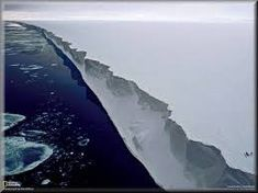 god tells us in the bible that ice shelves hold in the water.......antarctica isn't a continent perched at the bottom of a globe......it is the circular edge long sides of a plate