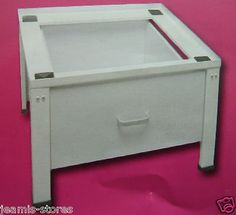 Washing Machine Pedestal Stand With Drawer | eBay