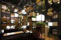 pendas designs a space to take a breath as a cafe interior.