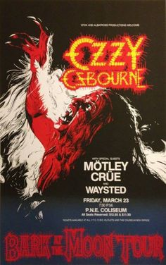 Ozzy and Crüe 1984