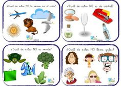 Comprensión lectora de Oraciones FRASES NEGATIVAS AulaPt Speech Language Therapy, Speech And Language, Speech Therapy, Learning Sight Words, Elementary Spanish, School 2017, Learning Quotes, Learning Through Play, Home Schooling