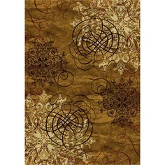 San Remo Passing of Autumn Contemporary Rug - P-#538124-C-#60002 By Milliken