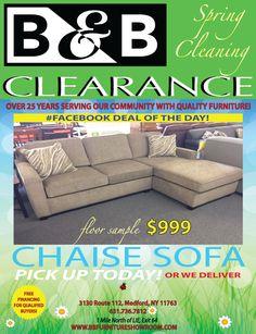 B&b Furniture, Clearance Furniture, Chaise Sofa, Chaise Couch