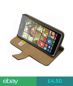 Cases & Covers Wallet Nokia Microsoft Lumia 535 100% Membrane Brand - Flip Case Cover Pouch #ebay #Electronics