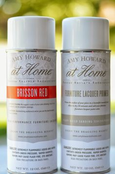 Magic In A Can: Amy Howard Furniture Lacquer Paint - A Home Full Of Color
