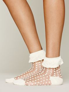 Free People Mono Ruffle Anklet, 14.00