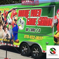 Www.mobilevideogamestation.com Birthday Parties  Weddings  Parents Parties  Basketball Teams  Church Events  Block Parties Summer Camps  Much Much More!! We have Bounce Houses Now!! Call Now: 870.932.0037 www.mobilevideogamestation.com @theblackpages2k18 @mobilevideogamestation #theblackpages2k18  #arkansas #miami #losangeles #chicago #newyork #atlanta #littlerock #entreprenuer #entrepreneurship #blackentrepreneur #buyblack #selfemployed #blackbusinessdirectory #theblackpages2k18…