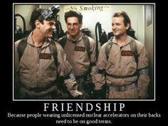 Bahaha! Indeed! Love Ghostbusters!