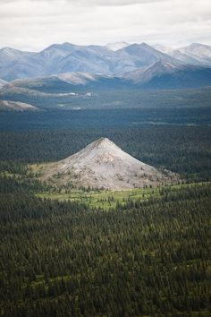Lone Summit, Noatak National Park, Alaska.
