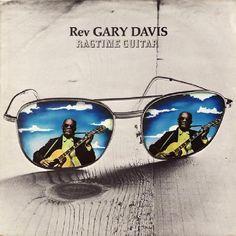 Rev. Gary Davis - Ragtime Guitar (Transatlantic, 1971).  Cover by Hipgnosis.